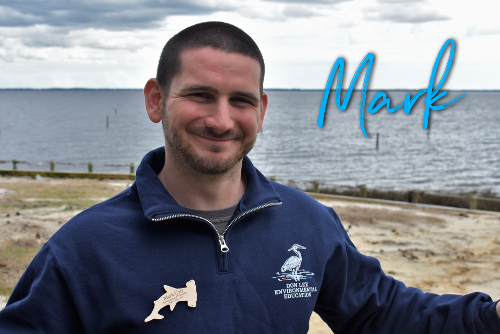Hey, I'm Mark Carr. This is my 13th season including summer camp and coastal seasons. I love the outdoors and working with children and youth. I have a degree in recreation, sports leadership and tourism management from UNCW and I'm also a trained seminarian. My favorite Disney character is  Flick because he is optimistic and driven to serve others.