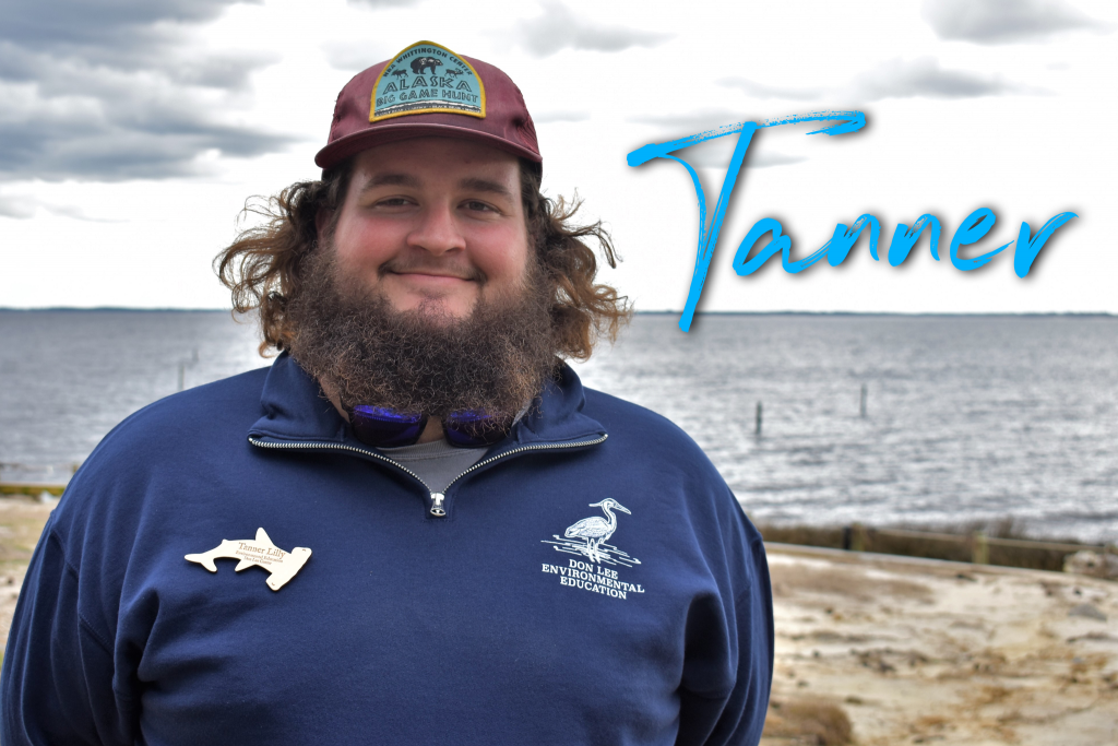 Hi, my name is Tanner Lilly and this is my 13th season working at camp! My favorite Disney character is Maui, because he likes to sail as much as I do!