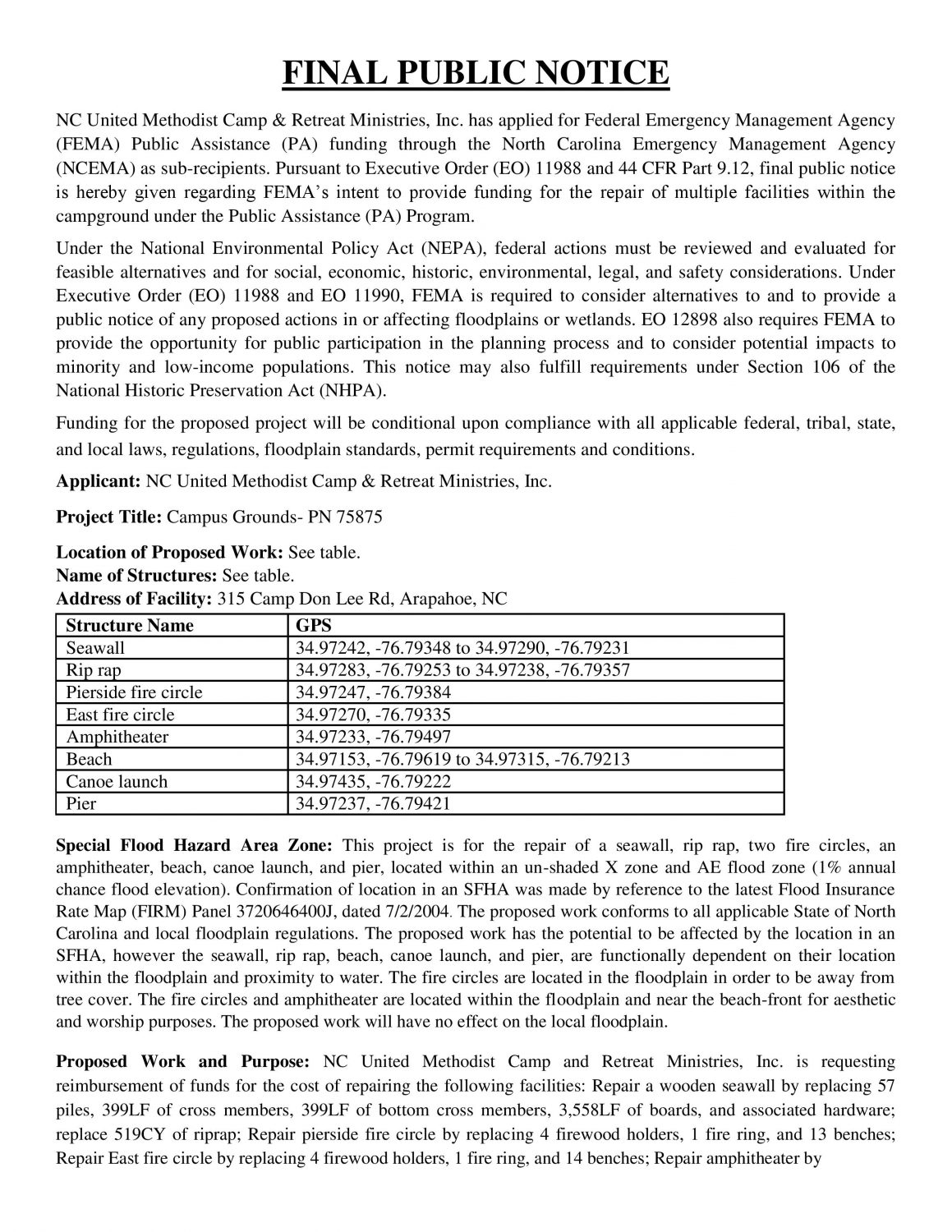 20190830 EHP 4393-00897 Final Public Notice - Posted Date Added 09-03-2019-page-001