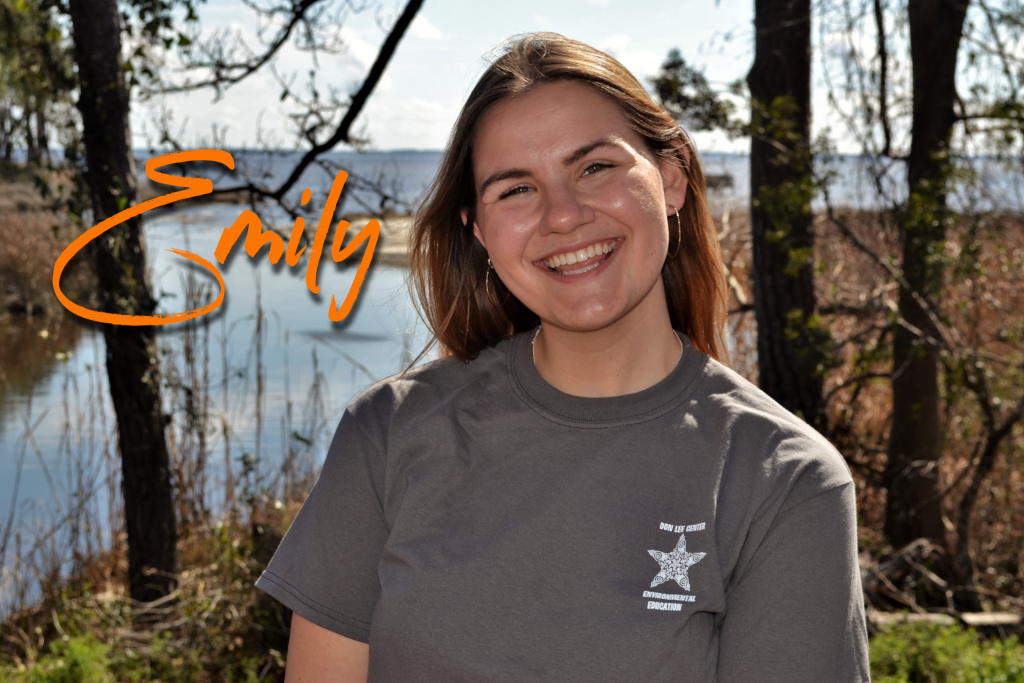 Grew up in Michigan, loving science and the outdoors. This is her second season as a Don Lee educator and is looking forward to sharing her love for the earth and all that inhabits it! Emily's favorite sea animal is the whale shark!