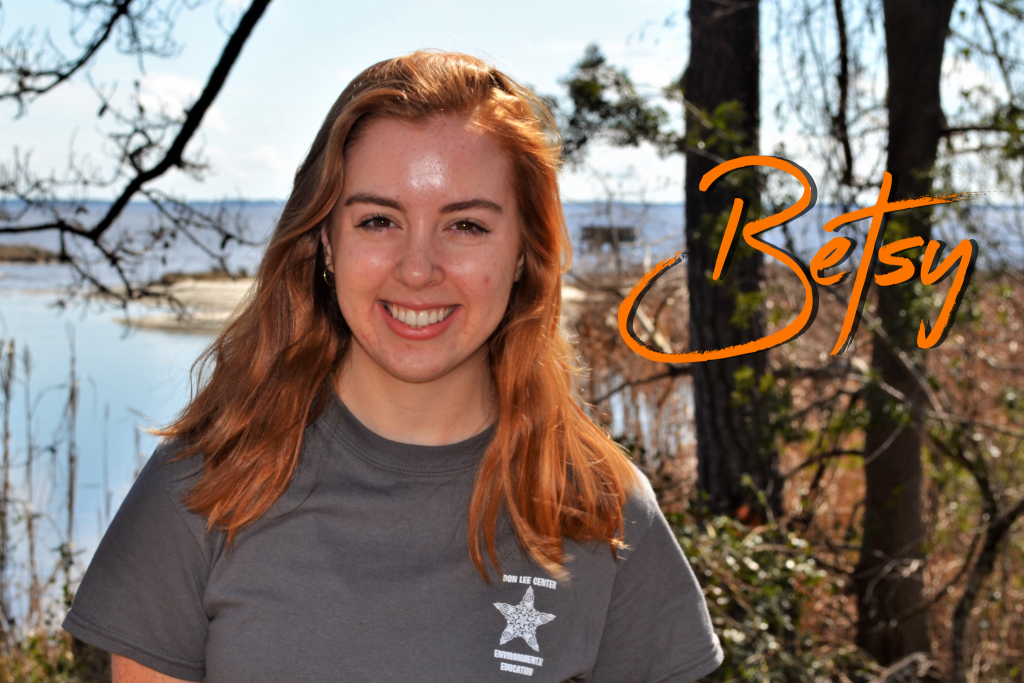 Hails from Greenville, SC.  This is her second coastal season here at camp. She loves to share her passion that every day, small changes can make a positive effect on the environment! Favorite sea creature is the manta ray.